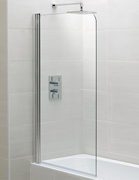 Identiti2 800 x 1400mm Single Bath Screen
