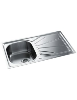 Trydent Stainless Steel 1.0 Bowl Kitchen Sink With Drainer