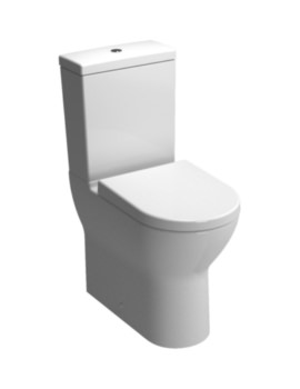 S50 Comfort Height Close Coupled Toilet With Cistern And Seat
