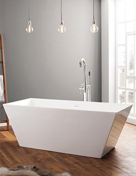 Airton 1650 x 650mm Contemporary Freestanding Bath
