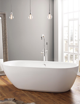 Cayton 1800 x 840mm Contemporary Freestanding Bath