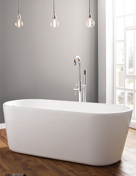 April Brearton 1500 x 700mm Contemporary Freestanding Bath