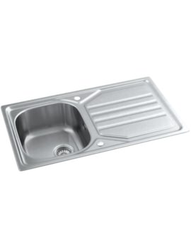 Mikro Stainless Steel 1.0 Bowl Kitchen Sink With Drainer