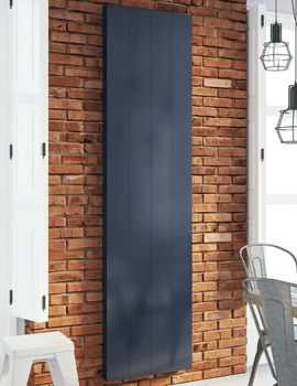 DQ Heating Vela 1900mm High Vertical Electric Designer Radiator