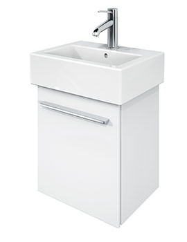 X-Large 400mm Vanity Unit And 450mm Vero Basin