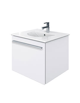 X-Large 600mm Vanity Unit With 630mm Darling New Basin