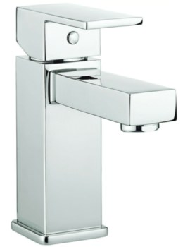 Quanto Monobloc Basin Mixer Tap Chrome