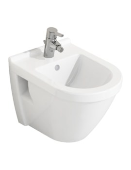 S50 Single Tap Hole Wall Hung Short Bidet