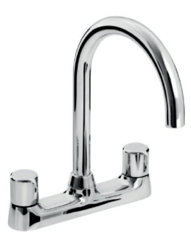Choices Deck Mounted Kitchen Sink Mixer Tap