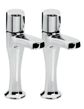 Choices Pair Of High Neck Sink Taps