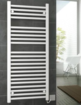 Metro Electric Towel Rail 300 x 800mm