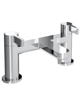 Clio Deck Mounted Bath Filler Tap