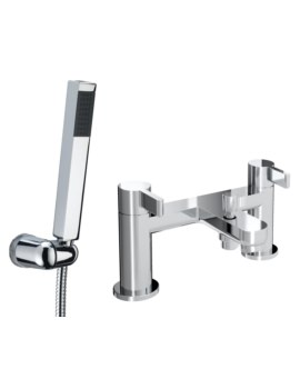 Clio Deck Mounted Bath Shower Mixer Tap