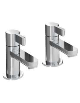 Clio Pair Of Basin Taps