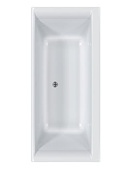 Haiku Double Ended Acrylic Bath 1700 x 800mm - CABHA17580PA