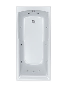 Apex 11 Jet Whirlpool Bath 1700 x 800mm