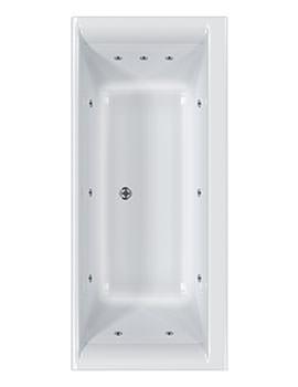 Haiku 11 Jet Whirlpool Bath 1800 x 800mm