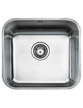 Teka BE 45.40 Stainless Steel 1.0 Bowl Undermount Sink