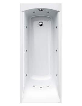 Delta 11 Jet Whirlpool Bath 1600 x 700mm