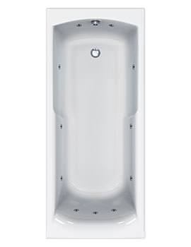 Carron Index 11 Jet Whirlpool Shower Bath 1700 x 750mm