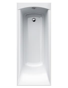 Delta 5mm Acrylic Single Ended Rectangular Bath 1650 x 700mm