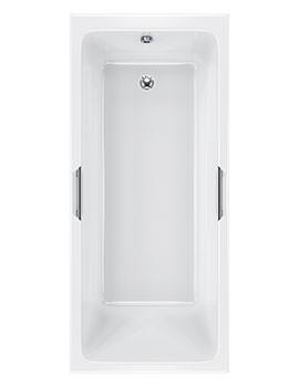 Quantum Integra Eco Single Ended 5mm Acrylic Bath 1700 x 700mm