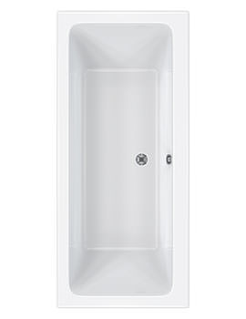 Quantum Double Ended Acrylic Bath 1800 x 800mm - CABQUDE185PA