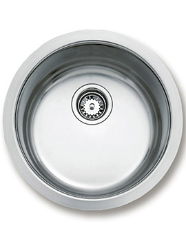Teka BE 039 Stainless Steel 1.0 Bowl Round Undermount Sink