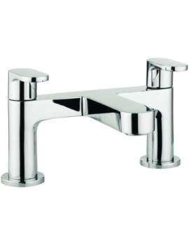 Silk Dual Lever Deck Mounted Bath Filler Tap