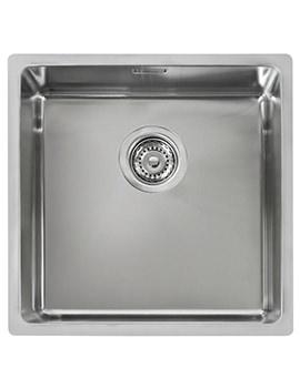 R15 400.400 Stainless Steel 1.0 Bowl Undermount Sink