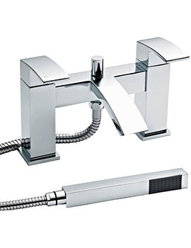Vibe Deck Mounted Bath Shower Mixer Tap