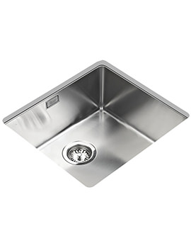 Teka R15 450.400 Stainless Steel 1.0 Bowl Undermount Sink