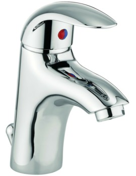Alpha Monobloc Basin Mixer Tap With Pop-Up Waste