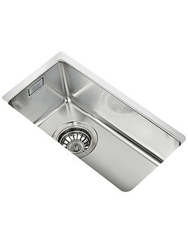 Teka R15 180.400 Stainless Steel 1.0 Bowl Undermount Sink