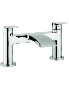 Cone Dual Lever Deck Mounted Bath Filler Tap