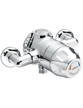 Ultra Exposed Sequential Thermostatic Shower Valve