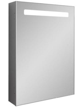 Allure Single Door Mirror Cabinet 500 x 700mm
