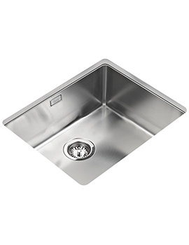 Teka R15 500.400 Stainless Steel 1.0 Bowl Undermount Sink