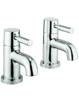 Heaven Pair of Basin Pillar Tap