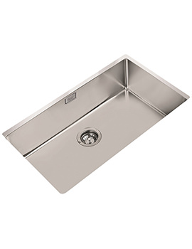 Teka R15 710.400 Stainless Steel 1.0 Bowl Undermount Sink
