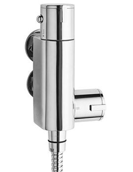 Premier Vertical Thermostatic Bar Shower Valve