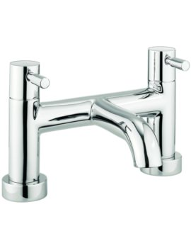 Crosswater Heaven Dual Lever Deck Mounted Bath Filler Tap