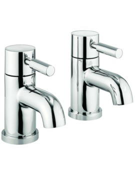 Heaven Pair Of Bath Pillar Taps