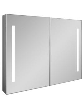 Allure Double Door Mirror Cabinet 900 x 700mm