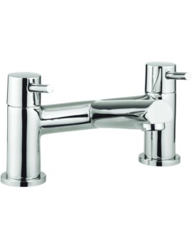 Crosswater S4 Dual Lever Deck Mounted Bath Filler Tap