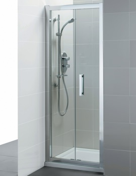 Synergy Infold Shower Door 900mm - L6208EO