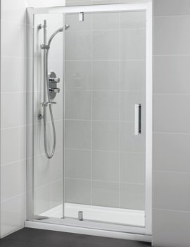 Synergy Pivot Corner Shower Door With Inline Panel 1200mm