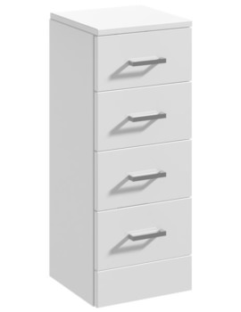 Mayford 300 x 300mm 4 Drawer Furniture Unit