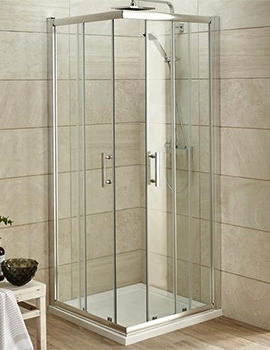 Lauren Pacific Corner Entry 900 x 900mm Shower Enclosure