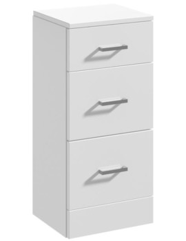 Floor Standing 350 x 330mm 3 Drawer Furniture Unit